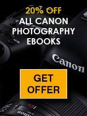 20% off Canon Photography eBooks